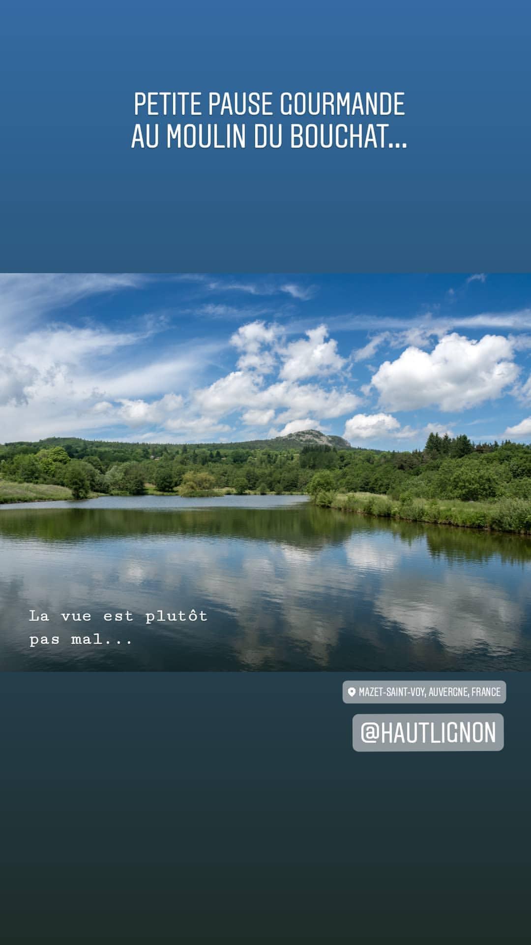Instagram Haue-Loire bonjour Marcel